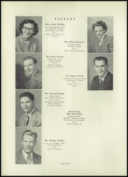 Page 12, 1953 Edition, Southeast High School - Pirates Log Yearbook (Ravenna, OH) online yearbook collection