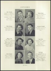 Page 15, 1953 Edition, Southeast High School - Pirates Log Yearbook (Ravenna, OH) online yearbook collection