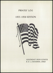 Southeast High School - Pirates Log Yearbook (Ravenna, OH) online yearbook collection, 1956 Edition, Page 5 of 124