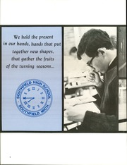 Page 8, 1968 Edition, Southfield High School - Blue and Gray Yearbook (Southfield, MI) online yearbook collection