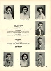 Speedway High School - Speedette Yearbook (Speedway, IN) online yearbook collection, 1953 Edition, Page 17