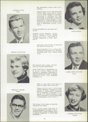 Spencerville High School - Echoes Yearbook (Spencerville, OH) online yearbook collection, 1954 Edition, Page 17