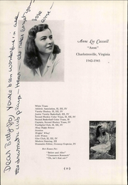 St Annes School - Synopsis Yearbook (Charlottesville, VA) online yearbook collection, 1945 Edition, Page 16 of 108