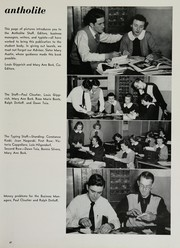 St Anthony High School - Antholite Yearbook (Detroit, MI) online yearbook collection, 1950 Edition, Page 51