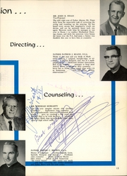 St Augustine High School - Saintsman Yearbook (San Diego, CA) online yearbook collection, 1962 Edition, Page 17