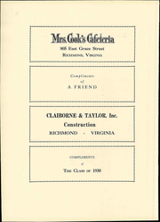 St Christophers School - Raps and Taps Yearbook (Richmond, VA) online yearbook collection, 1929 Edition, Page 152
