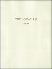 St Ignatius College Preparatory - Ignatian Yearbook (San Francisco, CA) online yearbook collection, 1946 Edition, Page 7