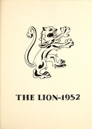 St Jeromes College - Lion Yearbook (Kitchener, Ontario Canada) online yearbook collection, 1953 Edition, Page 9