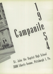 St John the Baptist High School - Campanile Yearbook (Pittsburgh, PA) online yearbook collection, 1954 Edition, Page 7