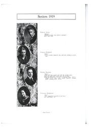 St Joseph High School - Crescent Yearbook (St Joseph, MI) online yearbook collection, 1919 Edition, Page 16
