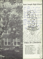 St Joseph High School - Crescent Yearbook (St Joseph, MI) online yearbook collection, 1956 Edition, Page 7