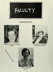 St Josephs College Long Island - Alpha Yearbook (Patchogue, NY) online yearbook collection, 1981 Edition, Page 12
