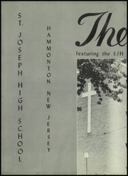St Josephs High School - Lily Yearbook (Hammonton, NJ) online yearbook collection, 1953 Edition, Page 6