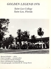 St Leo University - Golden Legend Yearbook (St Leo, FL) online yearbook collection, 1976 Edition, Page 5