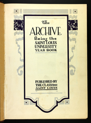 St Louis University - Archive Yearbook (St Louis, MO) online yearbook collection, 1922 Edition, Page 5