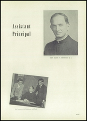 St Louis University High School - Dauphin Yearbook (St Louis, MO) online yearbook collection, 1951 Edition, Page 11