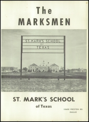 St Marks School of Texas - Marksmen Yearbook (Dallas, TX) online yearbook collection, 1953 Edition, Page 5 of 96