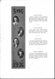St Mary Catholic High School - Marathon Yearbook (Marietta, OH) online yearbook collection, 1926 Edition, Page 15 of 66
