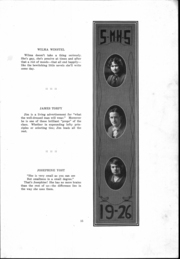 St Mary Catholic High School - Marathon Yearbook (Marietta, OH) online yearbook collection, 1926 Edition, Page 16