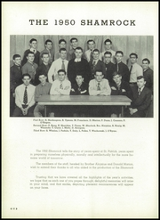 St Patricks Academy - Shamrock Yearbook (Chicago, IL) online yearbook collection, 1950 Edition, Page 50 of 72