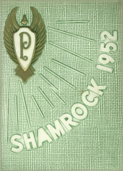 St Patricks Academy - Shamrock Yearbook (Chicago, IL) online yearbook collection, 1952 Edition, Cover