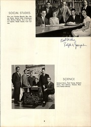 Starpoint Central School - Starpointer Yearbook (Lockport, NY) online yearbook collection, 1963 Edition, Page 11 of 112