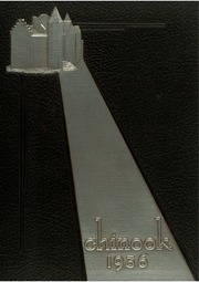 University of Montana Western - Chinook Yearbook (Dillon, MT) online yearbook collection, 1936 Edition, Cover