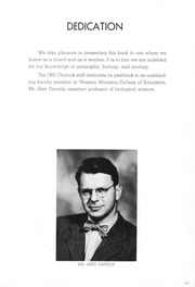 Page 7, 1955 Edition, University of Montana Western - Chinook Yearbook (Dillon, MT) online yearbook collection