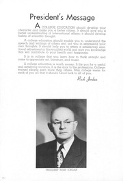 Page 8, 1955 Edition, University of Montana Western - Chinook Yearbook (Dillon, MT) online yearbook collection