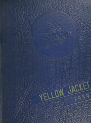 Staunton High School - Yellowjacket Yearbook (Staunton, IN) online yearbook collection, 1959 Edition, Cover