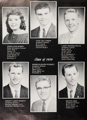 Page 14, 1959 Edition, Staunton High School - Yellowjacket Yearbook (Staunton, IN) online yearbook collection