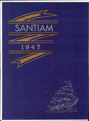 Stayton High School - Santiam Yearbook (Stayton, OR) online yearbook collection, 1947 Edition, Cover