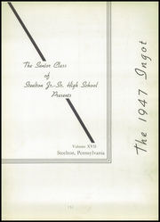 Page 9, 1947 Edition, Steelton High School - Ingot Yearbook (Steelton, PA) online yearbook collection