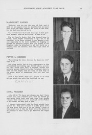 Page 17, 1952 Edition, Steinbach Bible Institute - Star Yearbook (Steinbach, Manitoba Canada) online yearbook collection