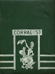 Stephen F Austin High School - Corral Yearbook (Houston, TX) online yearbook collection, 1953 Edition, Cover