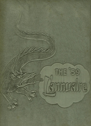 Stephen S Palmer High School - L Annuaire Yearbook (Palmerton, PA) online yearbook collection, 1959 Edition, Cover