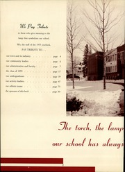 Page 6, 1955 Edition, Stephens High School - Tribute Yearbook (Rumford, ME) online yearbook collection