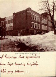 Page 7, 1955 Edition, Stephens High School - Tribute Yearbook (Rumford, ME) online yearbook collection
