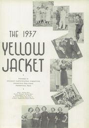 Stephenville High School - Yellow Jacket Yearbook (Stephenville, TX) online yearbook collection, 1937 Edition, Page 7