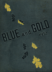 Sterling High School - Blue and Gold Yearbook (Sterling, IL) online yearbook collection, 1952 Edition, Cover