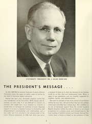 Page 12, 1962 Edition, Stetson University - Hatter Yearbook (DeLand, FL) online yearbook collection