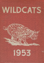 Stokes Township High School - Wildcats Yearbook (South Solon, OH) online yearbook collection, 1953 Edition, Cover
