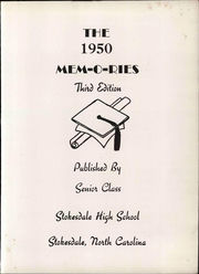 Page 9, 1950 Edition, Stokesdale High School - Memories Yearbook (Stokesdale, NC) online yearbook collection