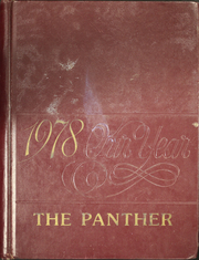 Stonewall High School - Panther Yearbook (Stonewall, LA) online yearbook collection, 1978 Edition, Cover