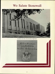 Page 11, 1966 Edition, Stonewall Jackson High School - Jacksonian Yearbook (Charleston, WV) online yearbook collection