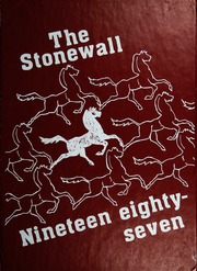 Stonewall Jackson Junior High School - Stonewall Yearbook (Roanoke, VA) online yearbook collection, 1987 Edition, Cover