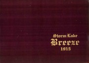 Storm Lake High School - Breeze Yearbook (Storm Lake, IA) online yearbook collection, 1915 Edition, Cover