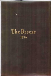 Storm Lake High School - Breeze Yearbook (Storm Lake, IA) online yearbook collection, 1916 Edition, Cover