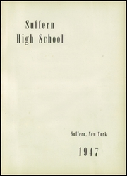 Suffern High School - Panorama Yearbook (Suffern, NY) online yearbook collection, 1947 Edition, Page 5