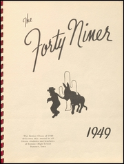 Sumner High School - Echoes Yearbook (Sumner, IA) online yearbook collection, 1949 Edition, Page 5 of 60